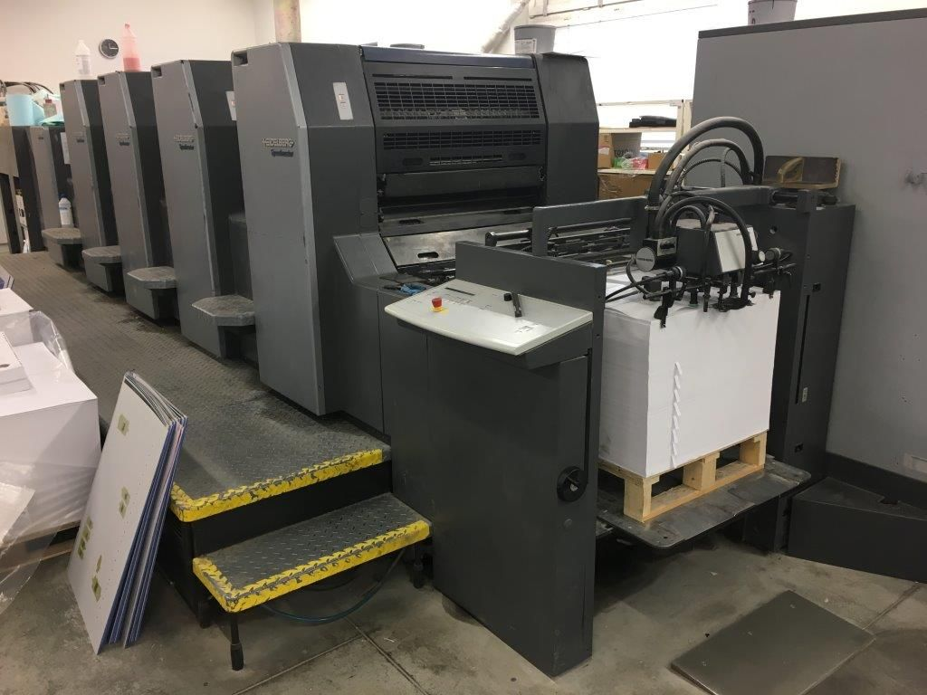Machine: Heidelberg Speedmaster 74 4P3HL