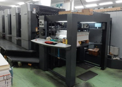 Machine: Heidelberg Speedmaster 102 4P3