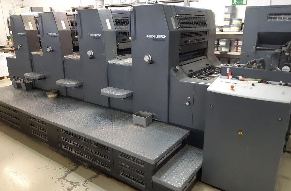 Heidelberg Printmaster 74 4 -ohne Wendung-