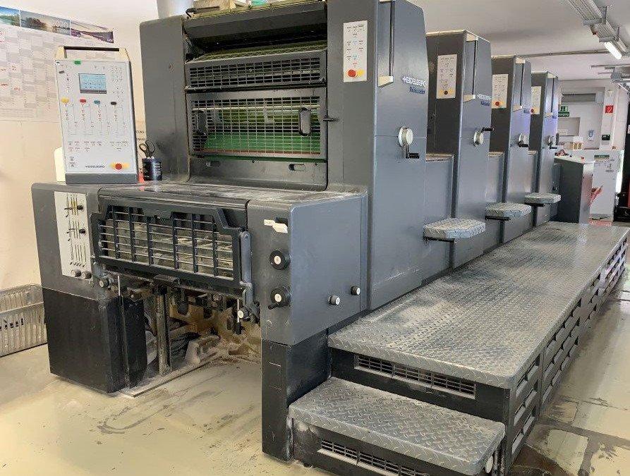 Heidelberg Printmaster 74 4 -straight-