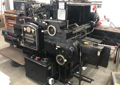 Machine: Heidelberg OHZ S