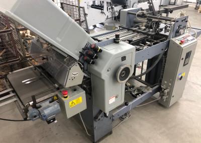 Machine: Falzmaschine Stahl T 52 3T/4-F