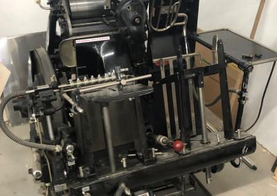 Machine: Heidelberg Tiegel A4
