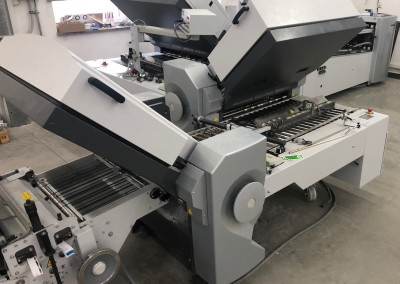 Machine: Heidelberg Stahlfolder TH82 4-4-2