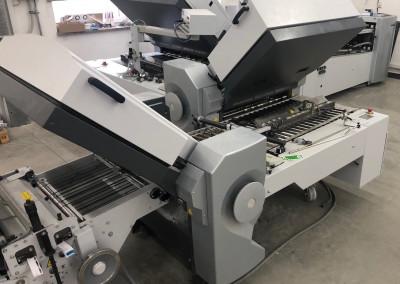 Machine: Heidelberg Stahlfolder TH82 4-4-2