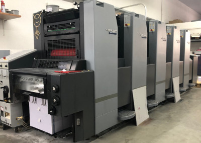 Machine: Heidelberg Speedmaster 52 5 -straight-