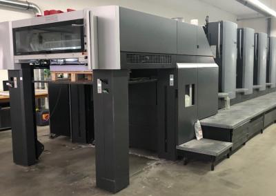 Machine: Heidelberg Speedmaster CD 102 5 -mit AxisControl-