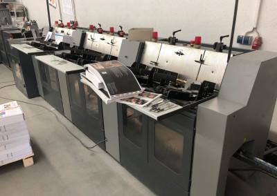 Machine: Heidelberg Saddle Stitcher ST 100.1