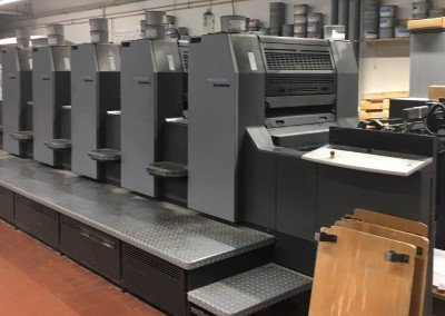 Machine: Heidelberg Speedmaster 74 5P2H