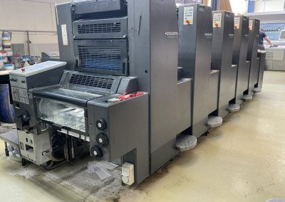 Machine: Heidelberg Speedmaster 52 5P3+