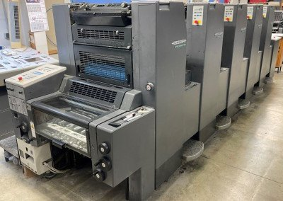 Machine: Heidelberg Speedmaster 52 5+ -Straight-