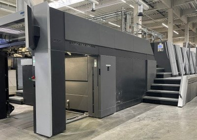 Machine: Heidelberg XL 106 5LX2 -Inpress2/WallScreenXL2-