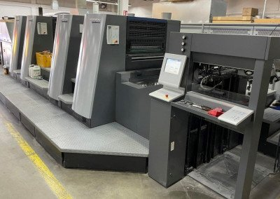 Machine: Heidelberg XL 75 4P3-C -AxisControl-