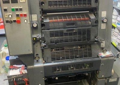 Machine: Heidelberg GTO 52 1+