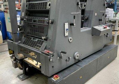 Machine: Heidelberg GTO 52 2-