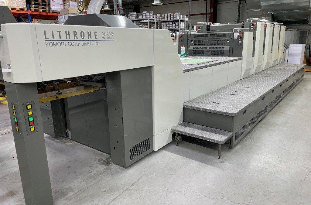 Komori Lithrone S 429 + Coating