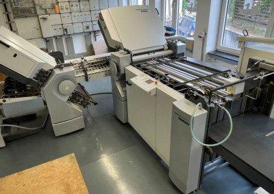 Machine: Heidelberg Stahlfolder TH66 4/6