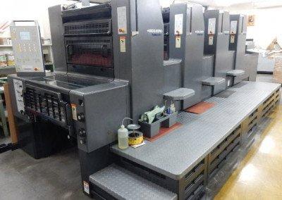 Machine: Heidelberg Printmaster 74 4P3- with Autoplate