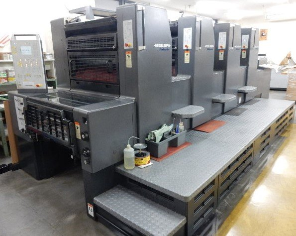 Heidelberg Printmaster 74 4P3- mit Autoplate