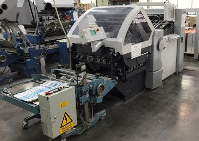 Machine: Heidelberg Stahlfolder KH78/82 4KTL