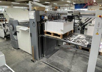 Machine: Heidelberg Stahlfolder TH82 642