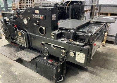 Machine: Heidelberg SBD -Umgebaut zum Stanzen