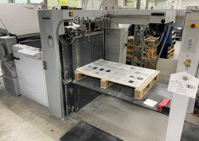 Machine: Heidelberg Stahlfolder TH82 44 + Palamides Alpha 500+